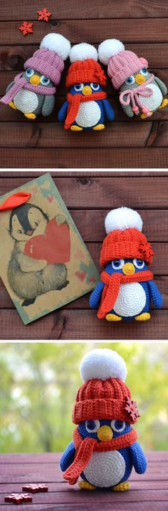 Baby penguin crochet pattern
