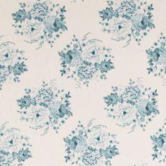 Tilda fabric 110 cm Mia Teal