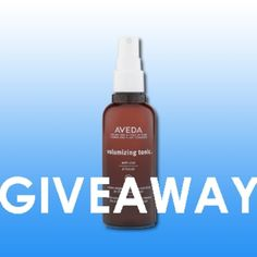 """Here is the WEEKLY GIVEAWAY CONTEST """"Aveda Volumizing Tonic"""". Go to our website to enter contest.  P.S. Last week give away will be announced by e-mail so check it now. You could be the winner.  #Giveaway #Aveda #Nelsonjsalon"""