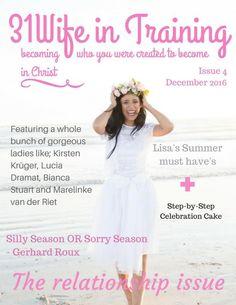 in Training Magazine Issue 4 (December Celebration Cakes, Summer 2016, Gorgeous Women, December, Flower Girl Dresses, Celebrities, Wedding Dresses, Lady, Celebrity
