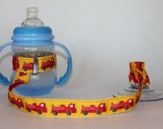Sippy Cup Leash Sippy Cup Strap Baby Bottle by ChunksBabyJunk