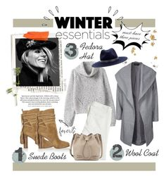 """""""What Are Your Winter Essentials?"""" by gabree ❤ liked on Polyvore featuring mode, Old Navy, H&M, Michael Kors, ONLY, rag & bone, Paige Denim et Tory Burch"""