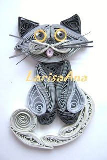 Fairy tale about quilling: Seals - magnets - a symbol of 2011