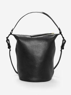 be11a0ecaf Black Small Dry Bag With Gold Zipper Black Satchel