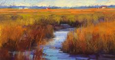 'LowCountry Life'.              12x18.              Pastel The paintings were wonderful!  Everyone kicked it up a notch and did some beauti...