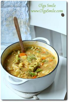 Danie jednogarnkowe Olgi Smile Best Soup Recipes, Gf Recipes, Cooking Recipes, Healthy Recipes, B Food, Good Food, Chef And The Farmer, Special Recipes, Breakfast Recipes