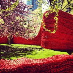 A Cool Art Installation in Madison Square Park