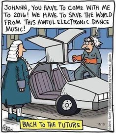 Bach to the Future!