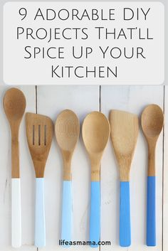 Ever feel like your kitchen is one of the most boring rooms in your house? With just a few simple DIY projects, you can really spruce up the look of your kitchen where it'll still remain completely functional and practical.