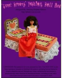 """Everything Plastic Canvas - """"Sweet Dreams"""" Fashion Doll Bed"""