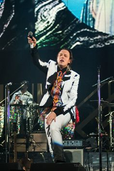 Win Butler of Arcade Fire at KROQ's Almost Acoustic Christmas