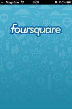Foursquare Splashscreens