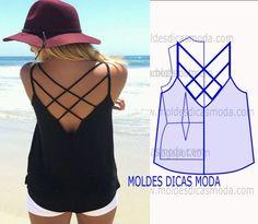 Moldes para hacer blusas de verano para dama04