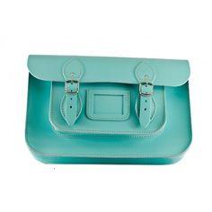 Stella Rittwagen Satchel M Fluor Collection . Cambridge Satchel, Tiffany Blue, Mint, Handbags, My Style, Collection, Clothes, Beauty, Beautiful