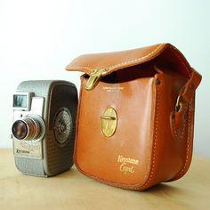 1940's Movie Camera - Keystone Capri K-25 8 mm Film Camera. $36.00, via Etsy.