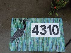 Custom Address Plaque by melissaforcier on Etsy