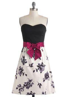 lovely a-line dress