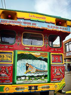 'La Presumida' -Chiva Bus