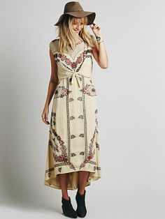 Free People FP New Romantics Tie Knot Dress at Free People Clothing Boutique