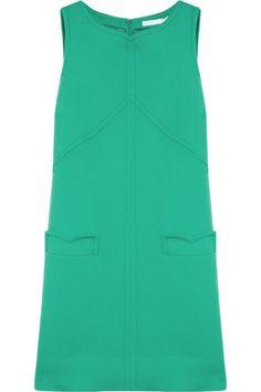 Victoria, Victoria Beckham  Wool-blend shift dress