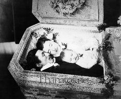 Post Mortem photography. A rather morbid practice we just do not do anymore. NB: just saw this on another site, and it states this was a murder suicide.