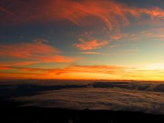 Sunrise at Mount Haleakala, Maui