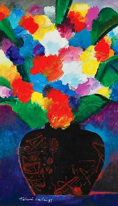 'Flowers' by Aldemir Martins (1985)