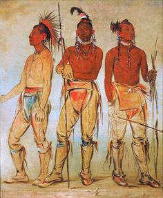Three Young Warriors