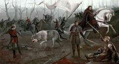 Battle of the Whispering Woods by Kayla Woodside #ASOIAF #GoT #RobbStark