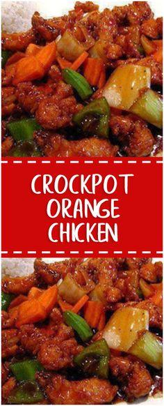 CROCKPOT ORANGE CHICKEN  #crockpot #chicken #whole30 #foodlover #homecooking #cooking #cookingtips