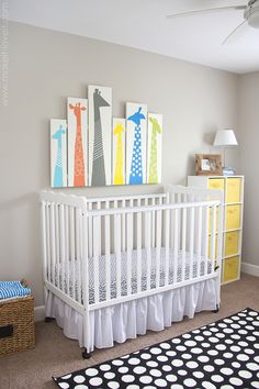 Como fazer um quadro de girafas para o quarto do bebê? http://www.soumae.org/quarto-de-bebe-safari-faca-voce-mesmo-um-quadro-de-girafas/