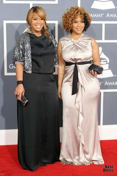 Erica Atkins-Campbell and Trecina Atkins-Campbell Curvy Girl Fashion, Plus Size Fashion, Sweet Fashion, Beautiful Black Women, Beautiful People, Celebrity Siblings, Erica Campbell, Plus Size Corset, Plus Size Girls