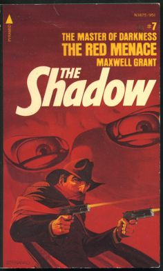 The Shadow 7 - Red Menace - Steranko cover