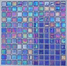 Iridis Jacinto 25x25mm Mosaic Tile