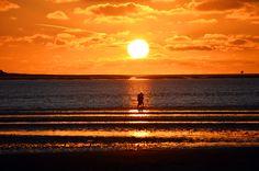 Die schönsten Sonnenuntergänge gibt es auf Föhr. Was singt die ganze Welt von Capri, wenn es so etwas vor der Haustür gibt. Kein Wunder, das Föhr auch als Karibik der Nordsee gilt...….weiter unter: http://welt-sehenerleben.de/Archive/3521/fohr-friesischer-sommer-im-september/