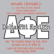 Delta Phi Epsilon Crush party #truestory #deephers