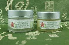 Angelica & Ginseng Revitalizing Face and Eye Cream. Moisturize & Revitalize. Made with our special blend of Herbal Hydrosol. Apply TCM to your skincare routine. ACCaN Vancouver. 2014