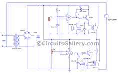 automatic voltage stabilizer circuit diagram | Circuito ...
