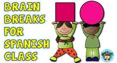 Spanish, Spanish for children, music, Spanish teacher blog, teaching Spanish to children, elementary Spanish, games in Spanish,
