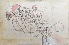Original Fantasy Painting by Tijana Dinovski Fantasy Paintings, Cool Paintings, Canvas Paper, Canvas Art, Original Art, Original Paintings, Ink Painting, The Dreamers, Buy Art