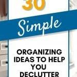 How To Be More Organized, Clutter Control, Declutter, Organization, Make It Yourself, Simple, Free, Getting Organized, Organisation