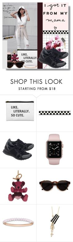 """I Got It From My Mama..."" by wuzzyswardrobe ❤ liked on Polyvore featuring adidas, Burberry, RetroSuperFuture, Thomas Sabo and distresseddenim"