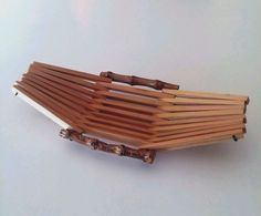 VINTAGE NATURAL WOOD BAMBOO MINI TRAY HAND MADE IN JAPAN 7 X 3 INCHES | Collectibles, Kitchen & Home, Kitchenware | eBay!