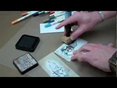 Tim Holtz and Ranger pair up to show you the tips and tricks of Distress Markers in this video. http://www.ucutathome.com/store/subcat/Tim-Holtz-Distress-Ink-and-Markers/id/475