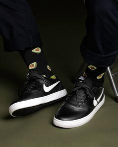 dcf098e7493824 Nike Check Premium Black white Keds Shoes