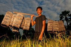 Bryan Peterson, exposure, cambodia, portrait, flash