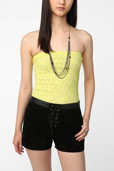 Silence & Noise Lace Tube Top  #UrbanOutfitters