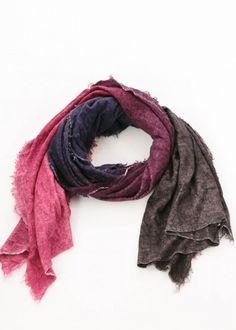 Schal Jara von Faliero Sarti neu eingetroffen bei nobananas mode #newcollection #fw16 #schal #scarf #falierosarti #nobananasmode nobananas.de
