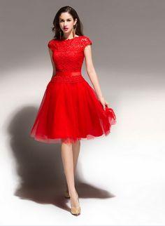 Vestido rojos cortos