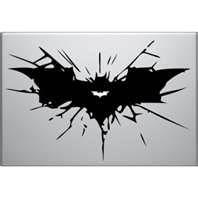Dark Knight Rises Macbook Decal batman